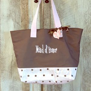 NWT Maid Of Honor Tote Bag